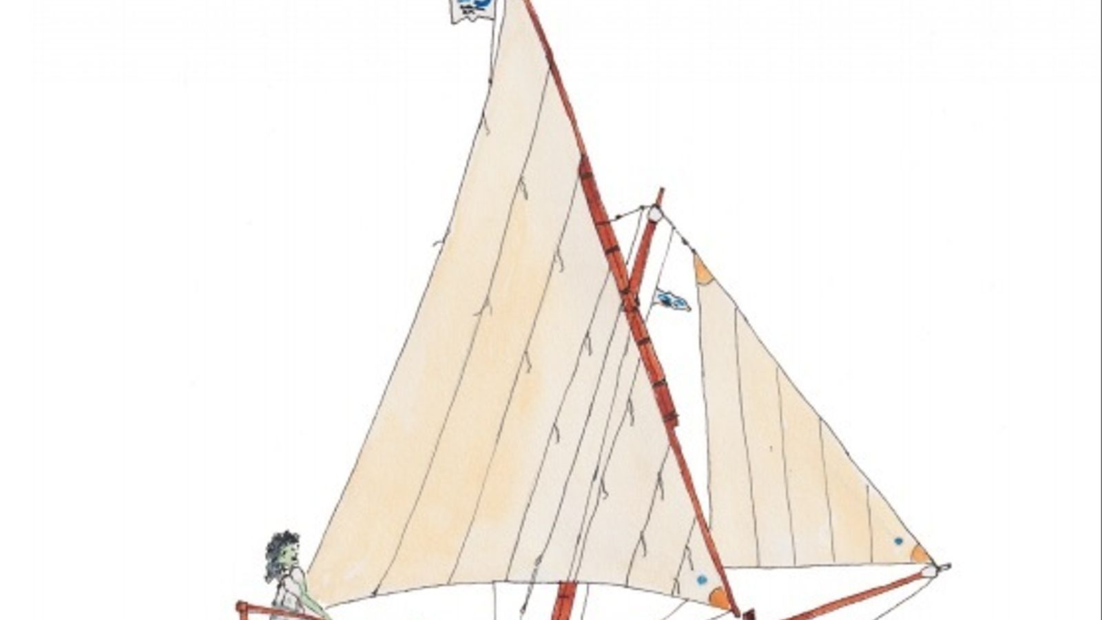 La il·lustració que du a la portada el fullet divulgatiu