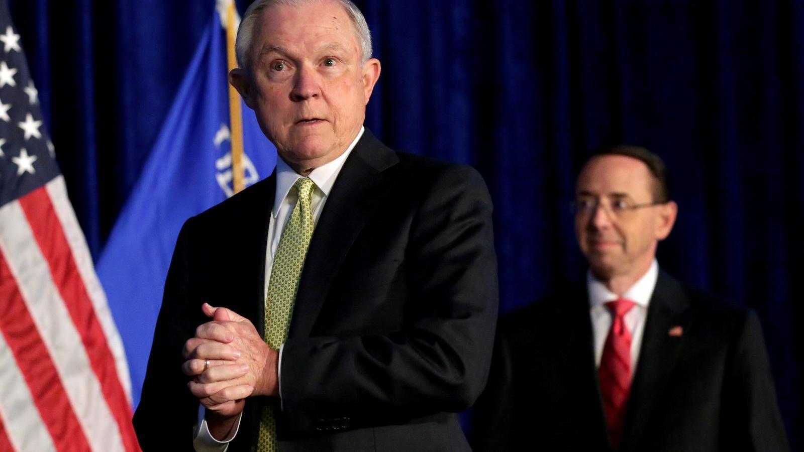 Trump destitueix el fiscal general dels EUA, Jeff Sessions