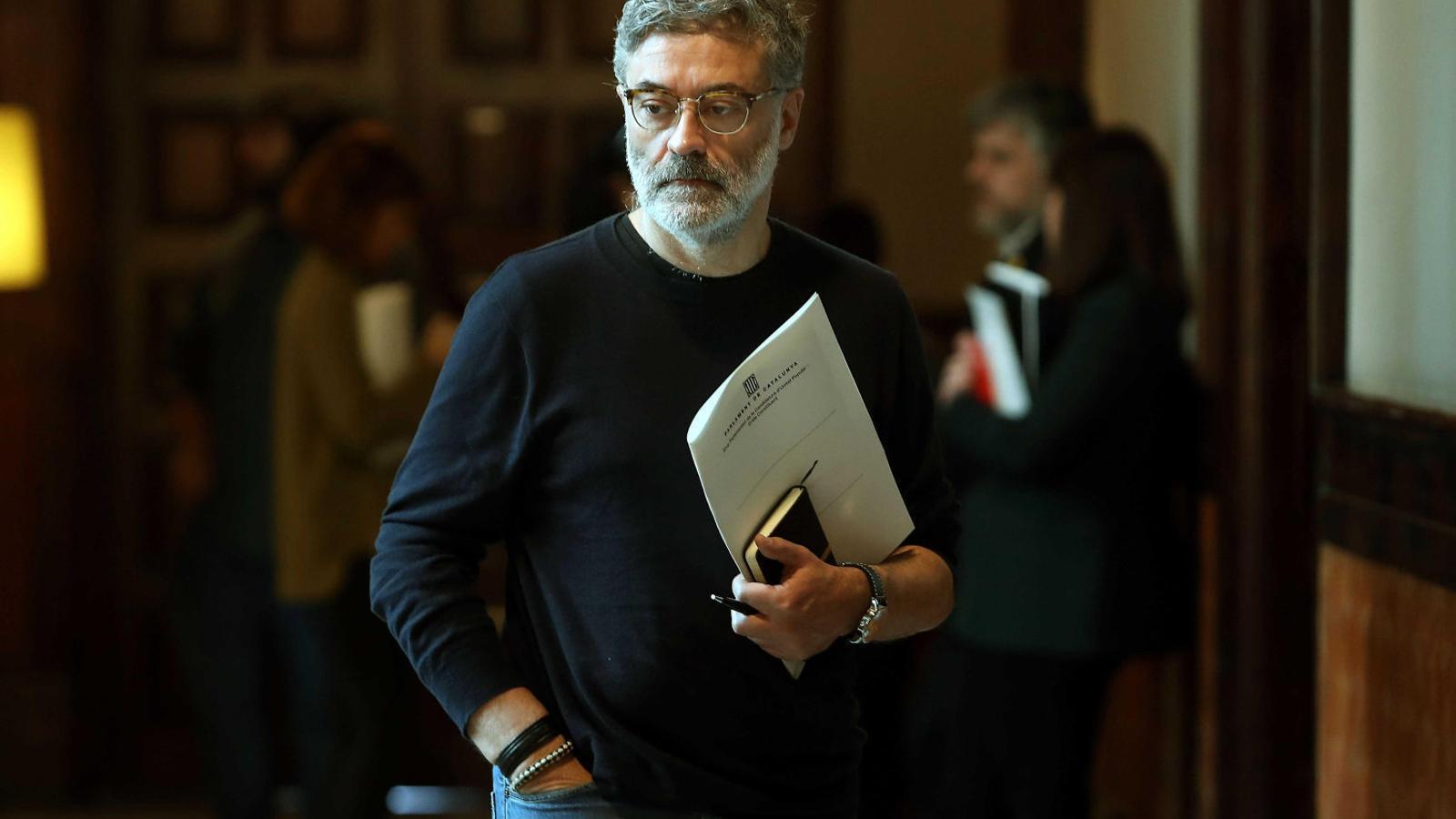 """La CUP vol que el Parlament declari la Constitución """"antidemocràtica i antisocial"""""""