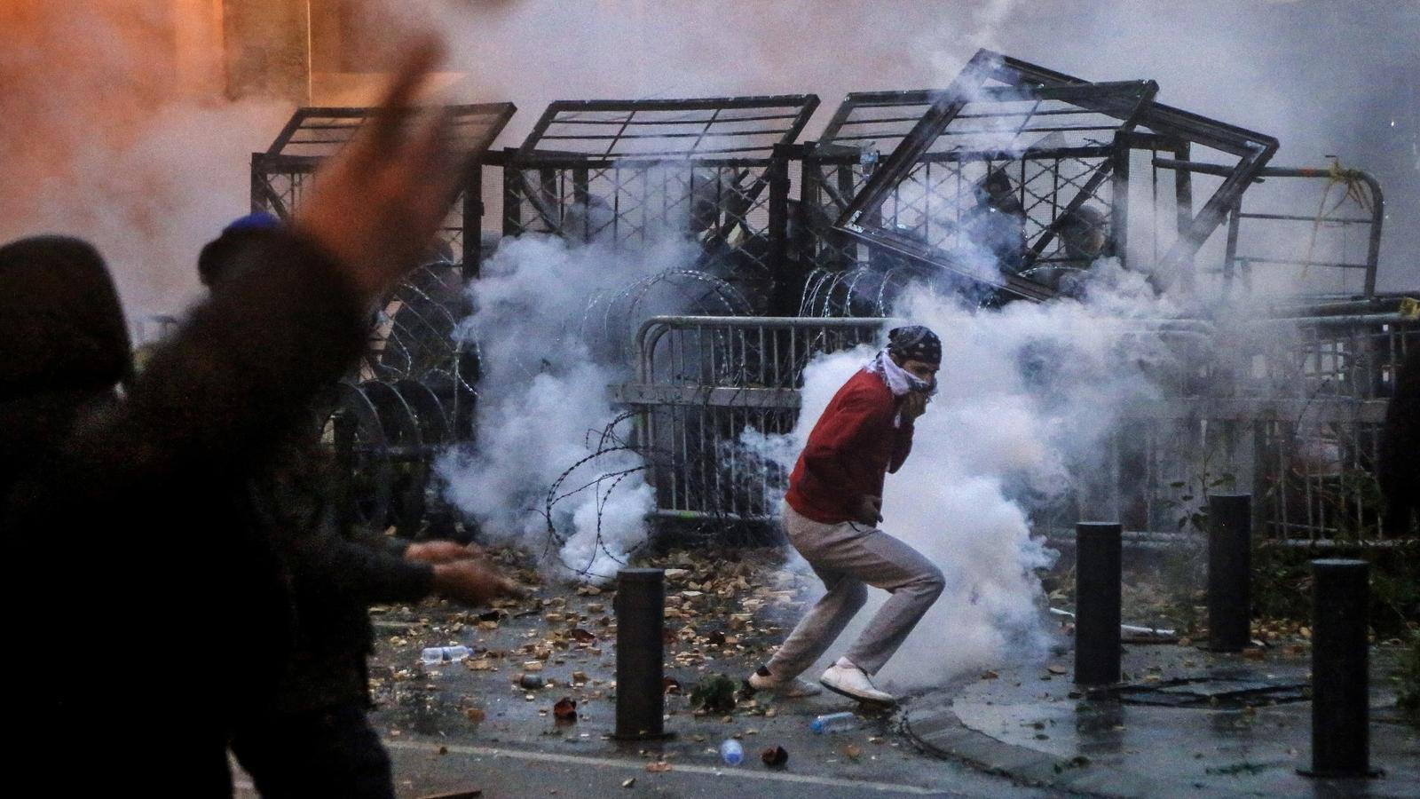 Protestes contra el govern a Beirut.