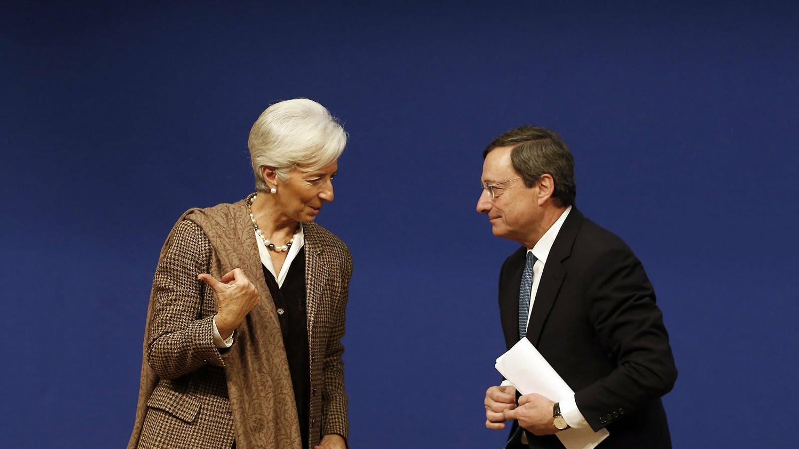 Draghi se'n va, entra la política