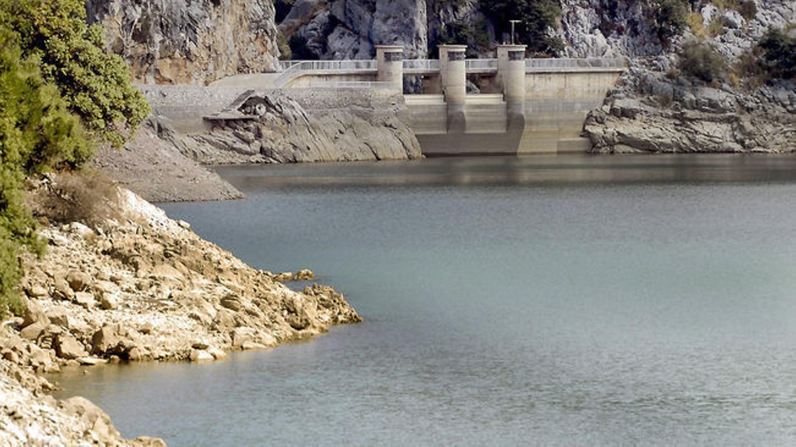 Durant el juliol del 2019 les reserves hídriques de les Balears es trobaven en un 57%.