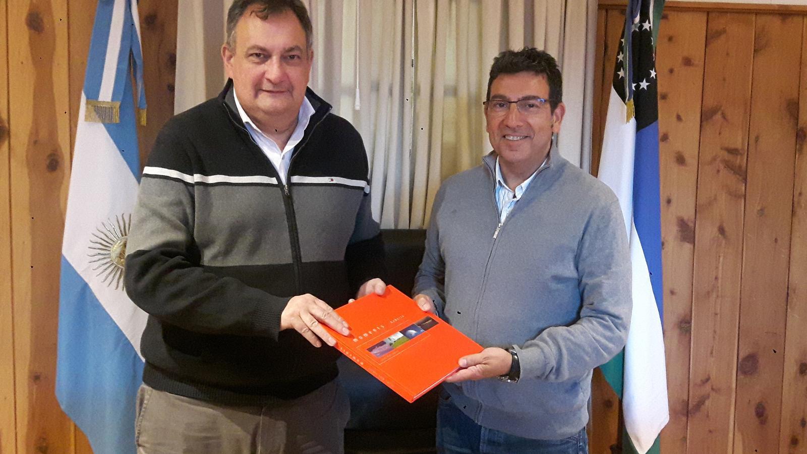 Miquel Canturri i Gustavo Gennuso. / COMÚ D'ANDORRA LA VELLA