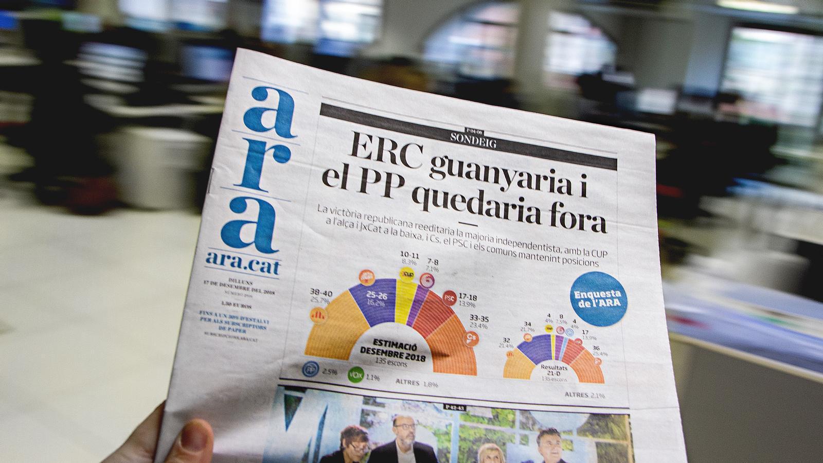 L'anàlisi d'Antoni Bassas: 'Pedro Sánchez i l'enquesta de l'ARA'