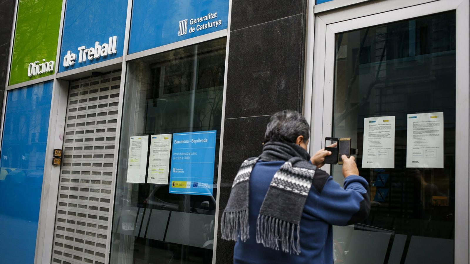Pugen els ERTO però cau el nombre de treballadors afectats