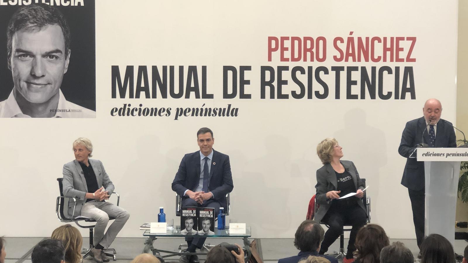 Jesús Calleja, Pedro Sánchez i Mercedes Milà