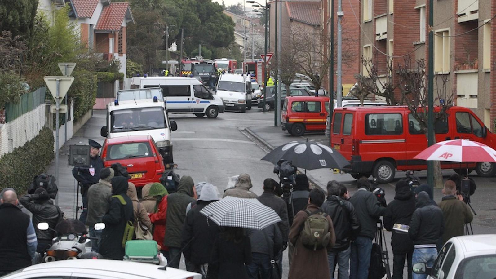 Els veïns del jihadista de Tolosa de Llenguadoc parlen sobre el setge policial