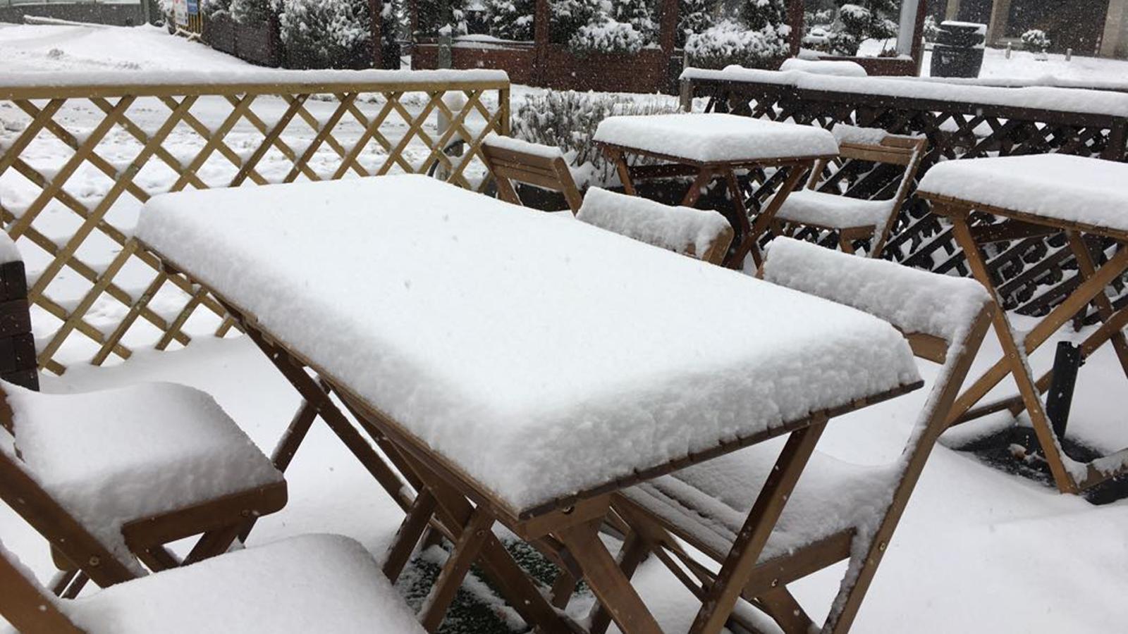 Queda activada l'alerta groga per fortes nevades a partir de les 18 hores d'aquest dimecres. / ARXIU