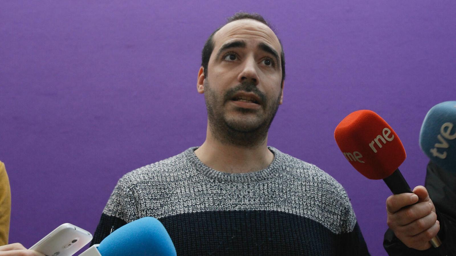 El secretari d'Organitzacvió de Podem a les Balears, Alejandro López