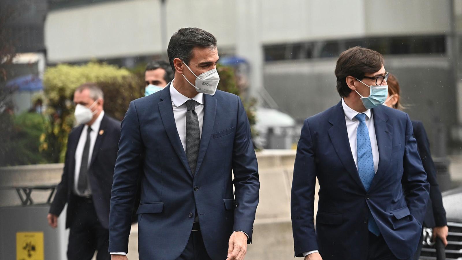 Sánchez encarrila la legislatura de la mano del bloque de investidura