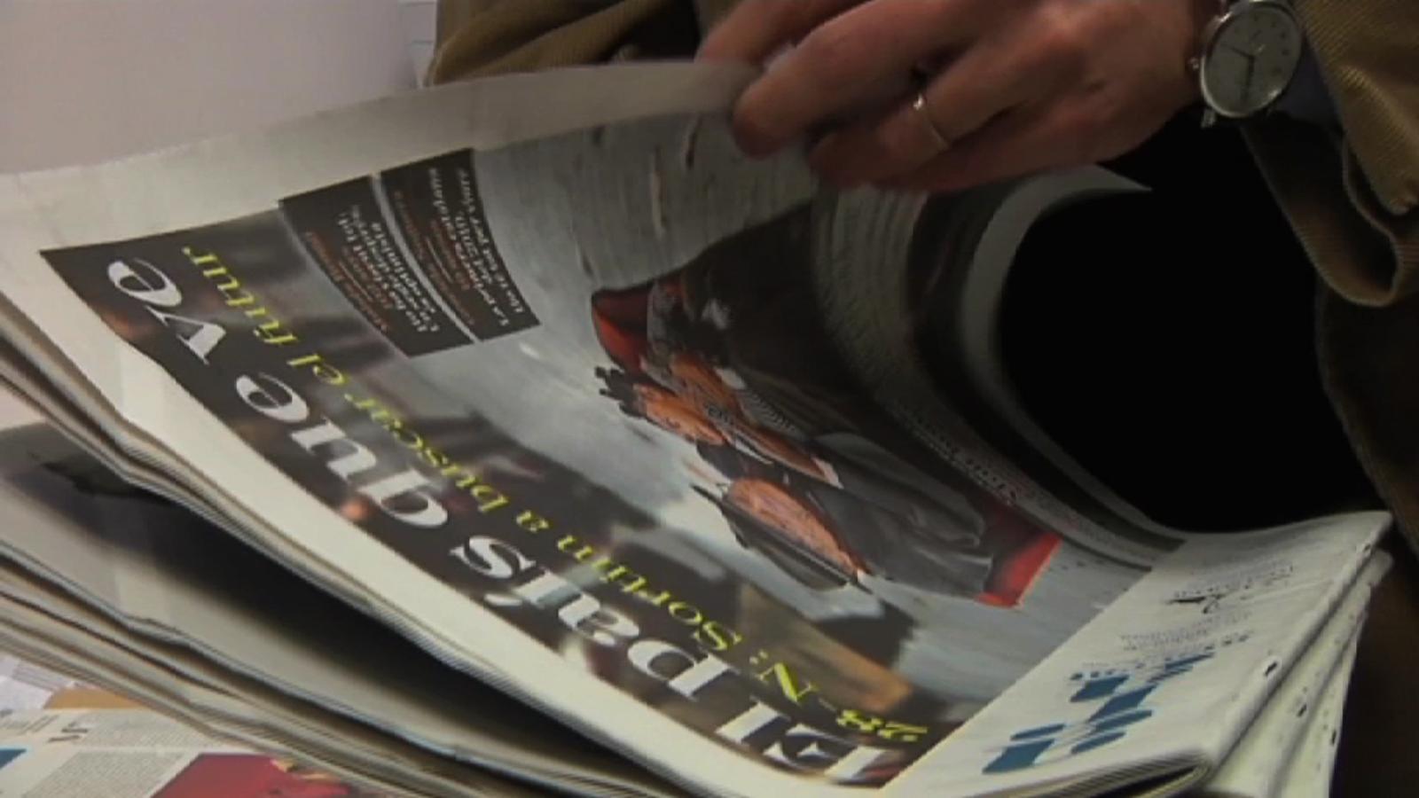 Records: les primeres hores del diari, aquella matinada del 28 de novembre del 2010
