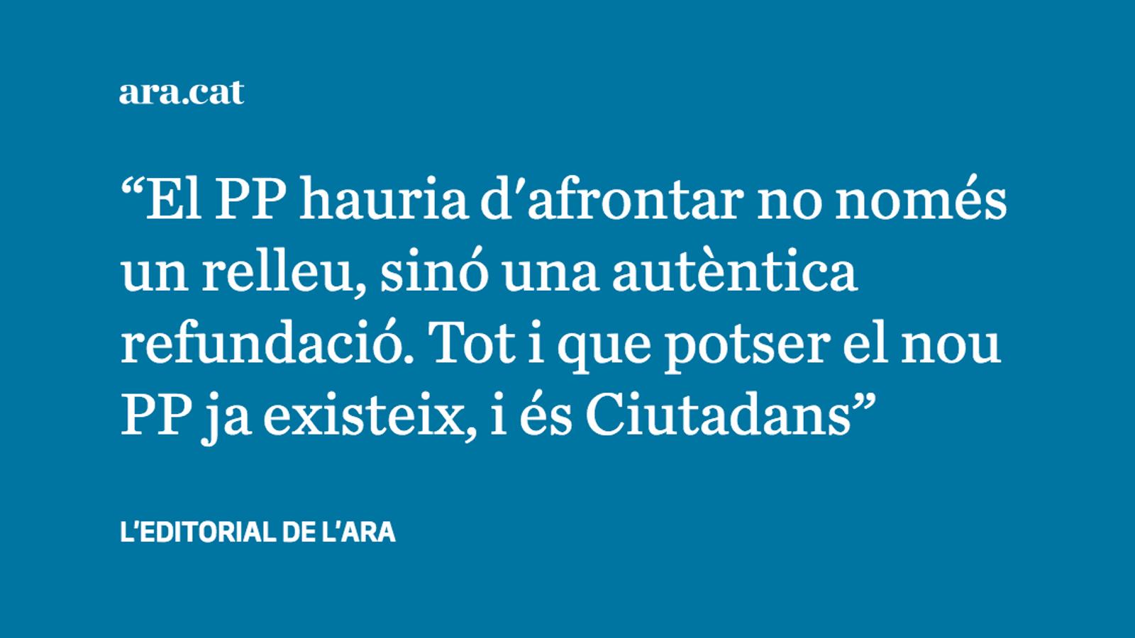 Feijóo, el favorit en la cursa per succeir Rajoy, es descarta