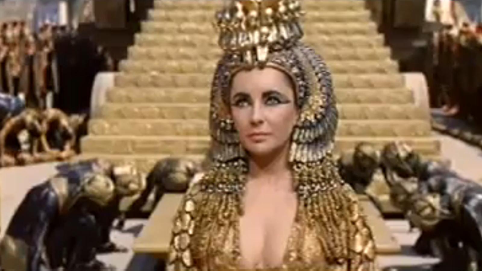 Cleopatra, el paper més destacat d'Elizabeth Taylor