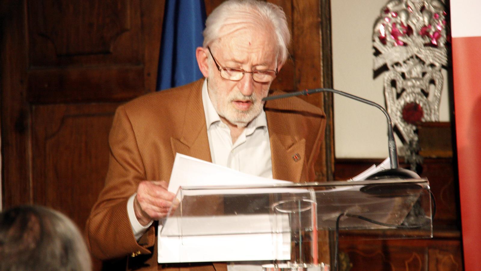 Bernat Lesfargas en una imatge del 2012