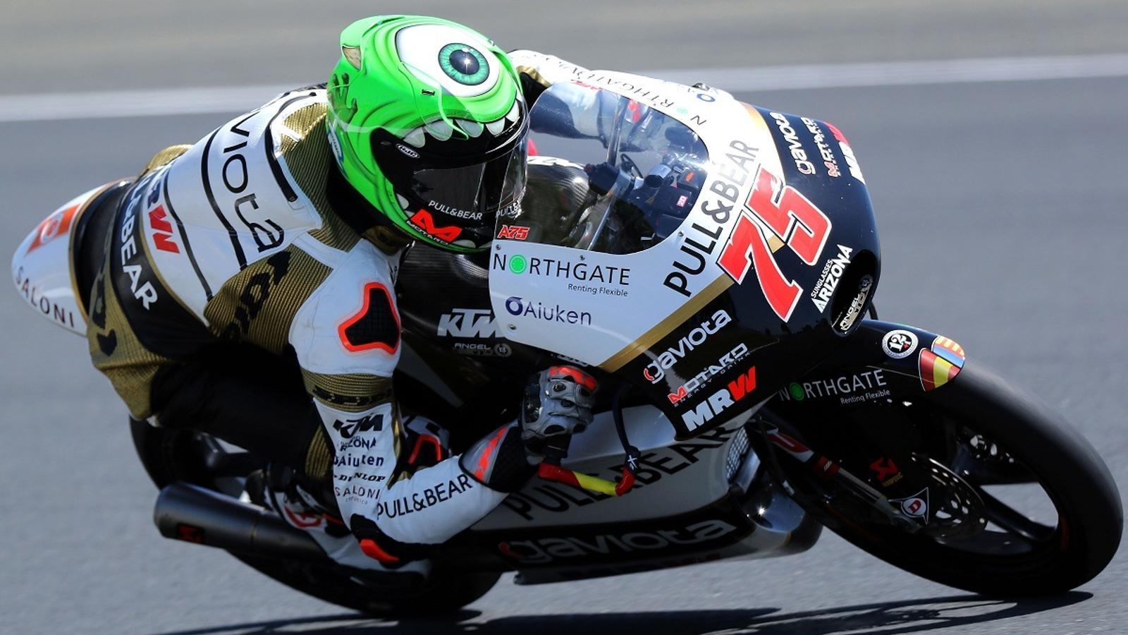 Albert Arenas, durant el GP de França de Moto3