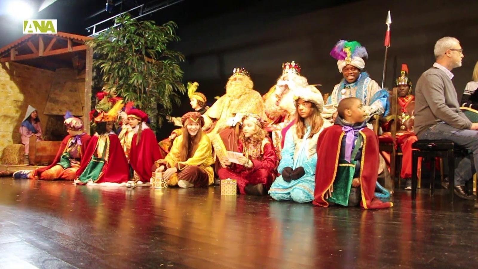 L'arribada de Ses Majestats a Ordino