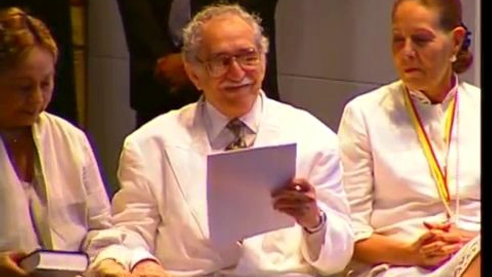 Discurs de Gabriel García Márquez durant el IV Congrés Internacional de la Llengua Espanyola