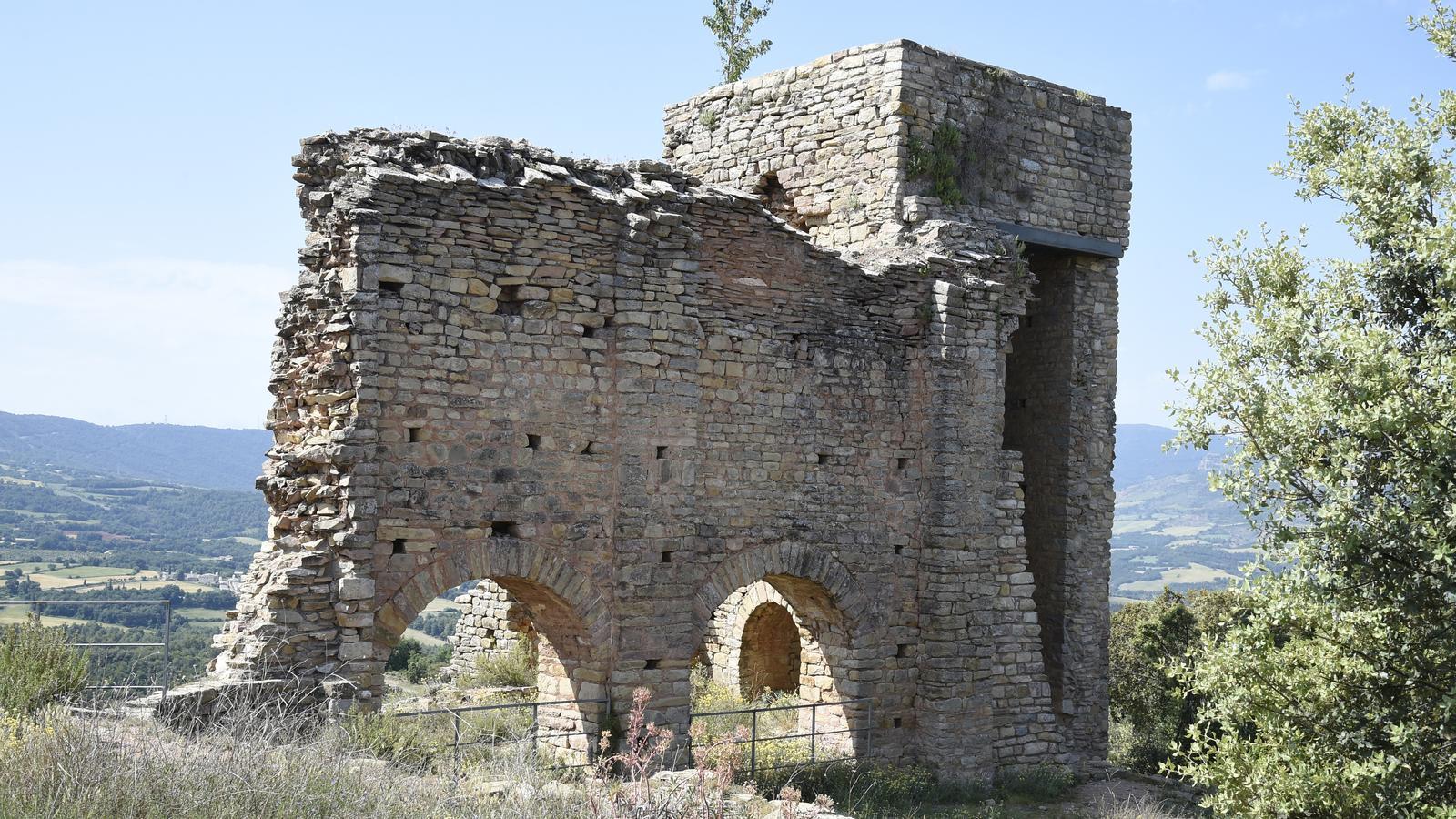 Imatge del castell de Llordà