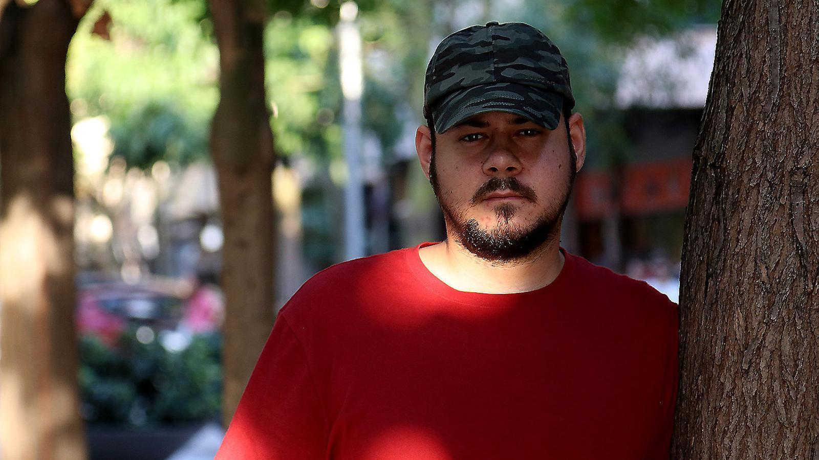 """Pablo Hasel: """"No m'aturaran, ni amb la presó ni amb amenaces de mort"""""""