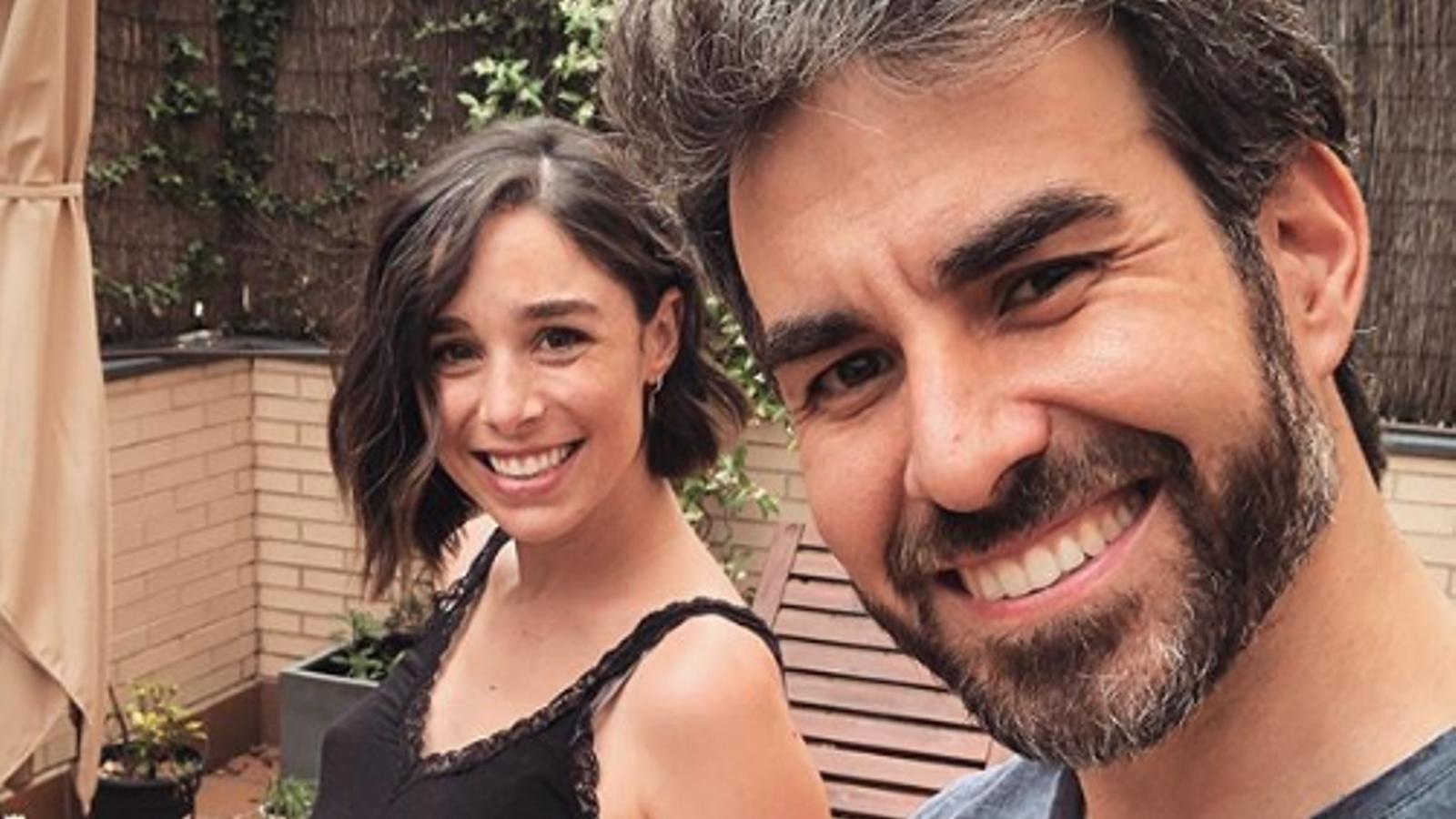 Candela Serrat i el seu marit, Dani Muriel