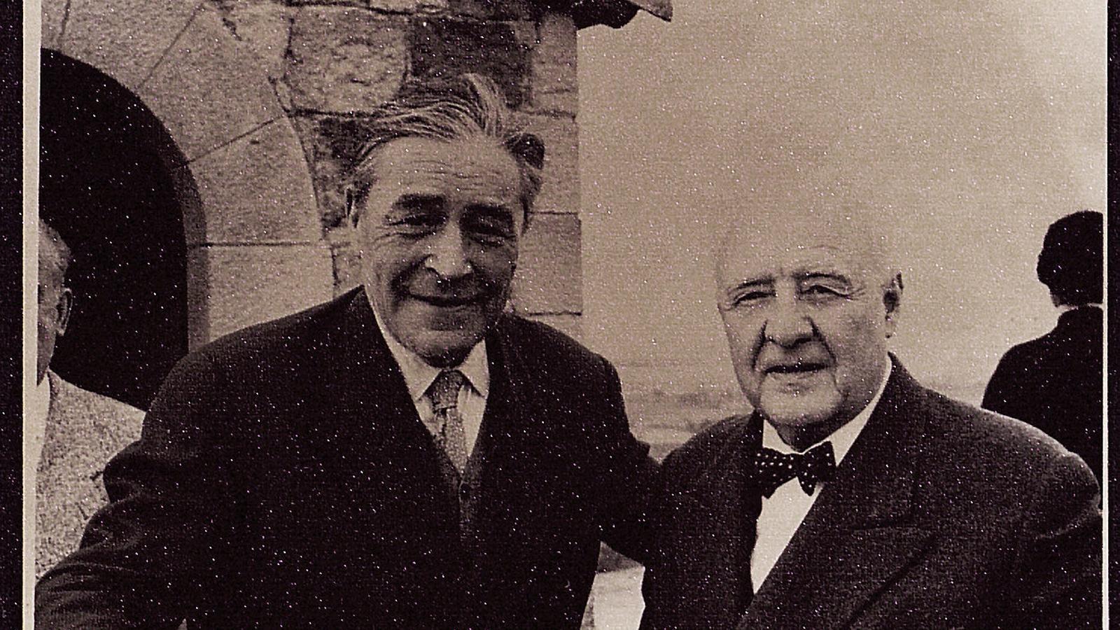Gaziel i Pla:  Dos rivals que van acabar sent amics
