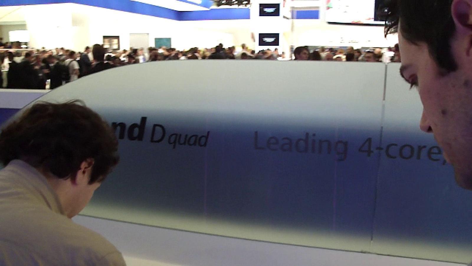 [MWC 2012] Vídeo: Huawei Ascend D Quad