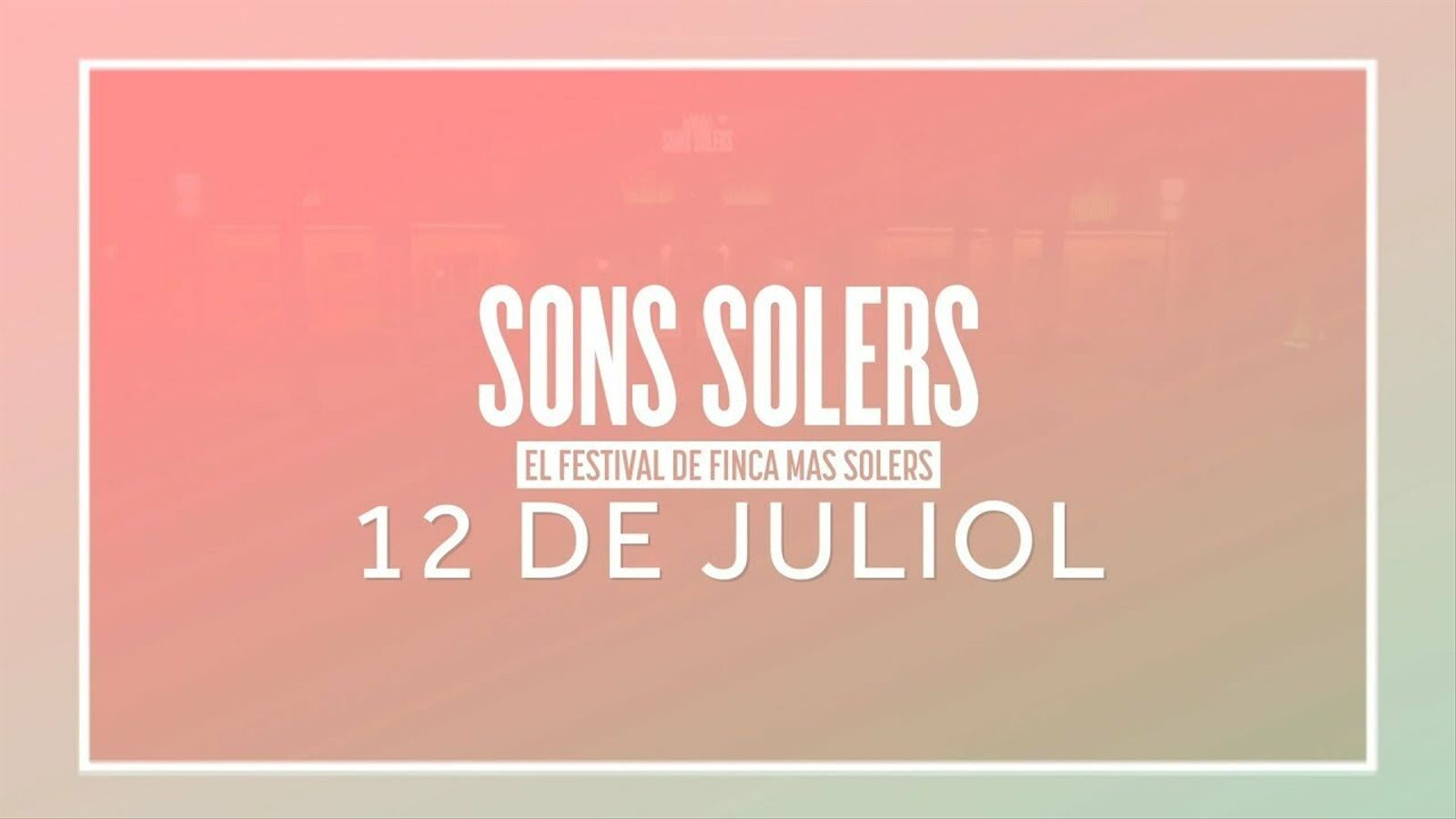 Sons Solers 2019
