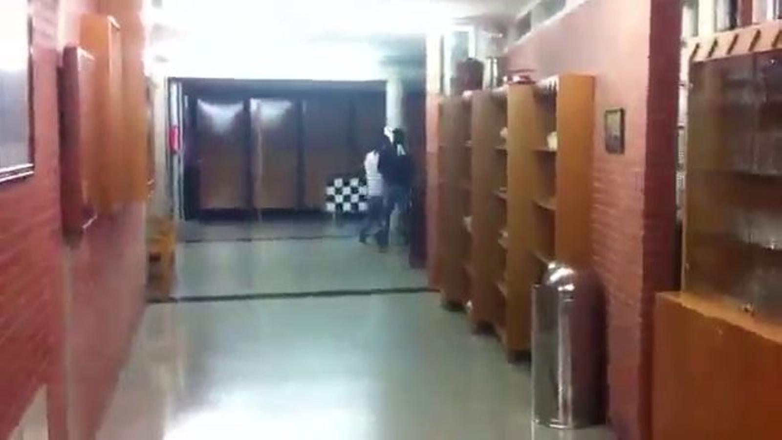 L'atac dels ultres a l'Escola d'Hostaleria de Girona