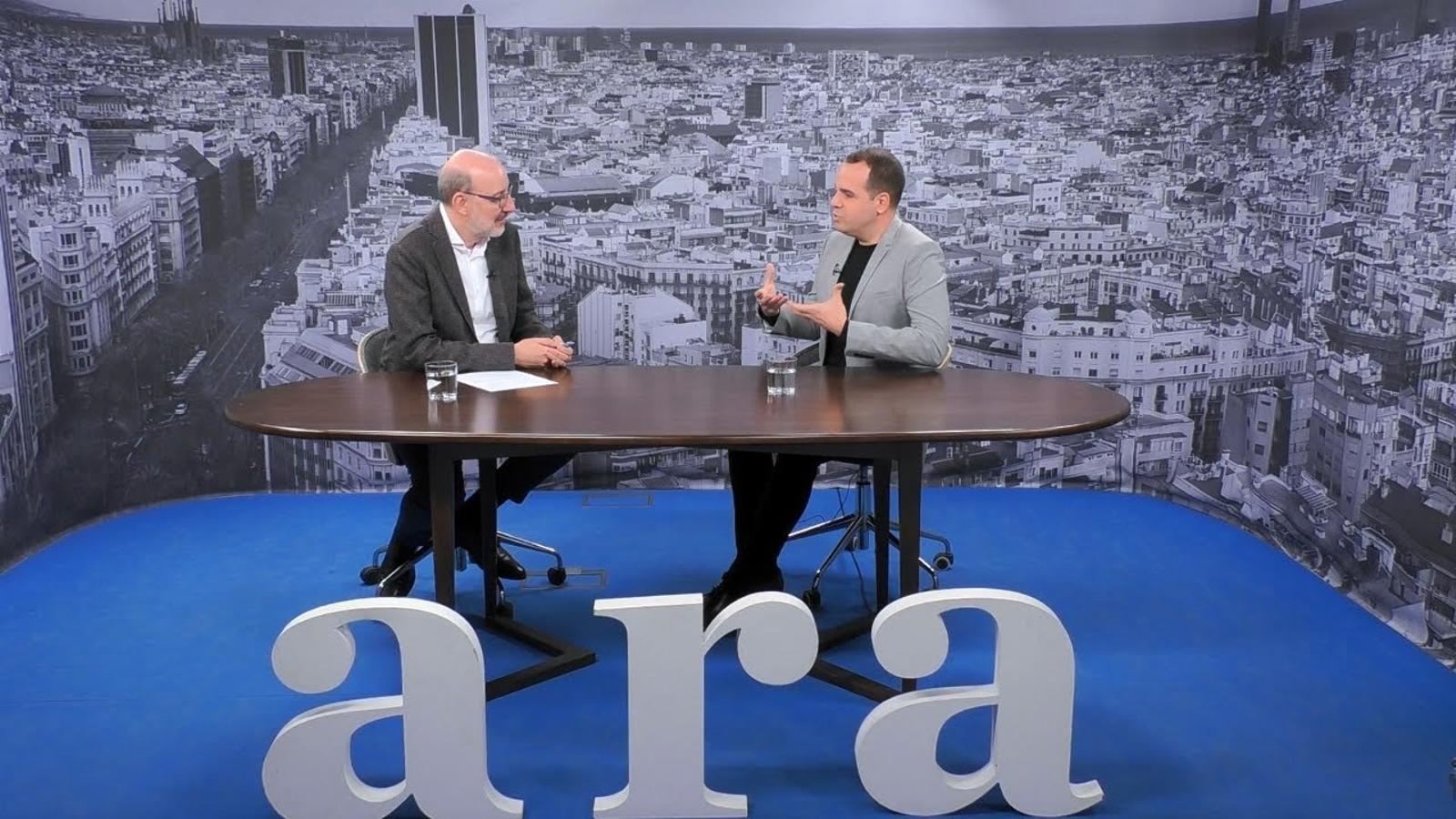 Entrevista d'Antoni Bassas a Albert Quiles