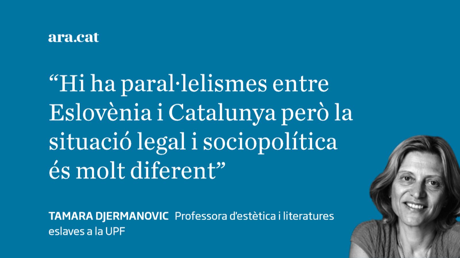 Espanya no és Iugoslàvia, Catalunya no és Eslovènia