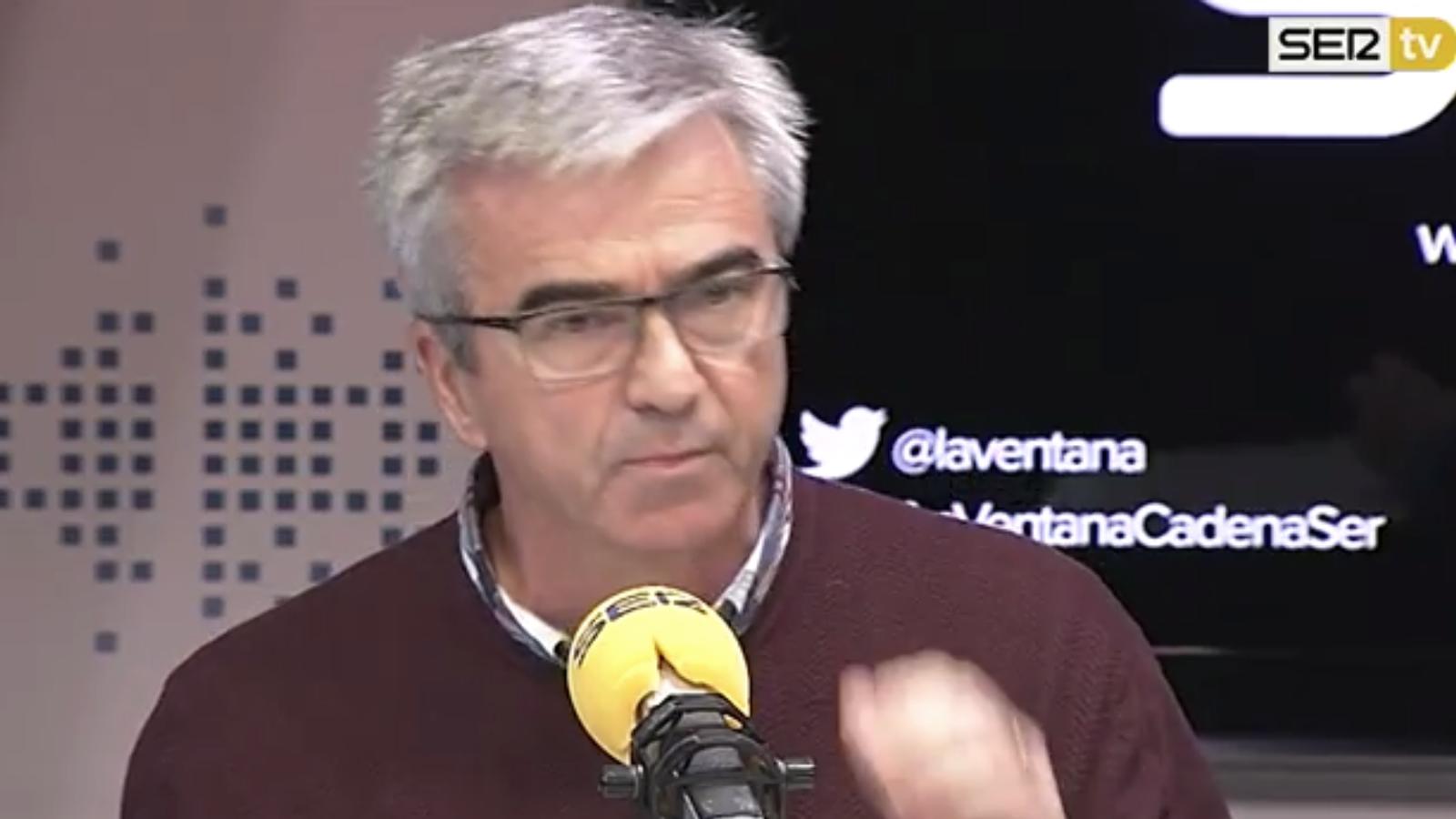 """Francino critica la portada d''El País' a la SER: """"Per comparar Tejero amb gent votant, que no m'hi esperin"""""""