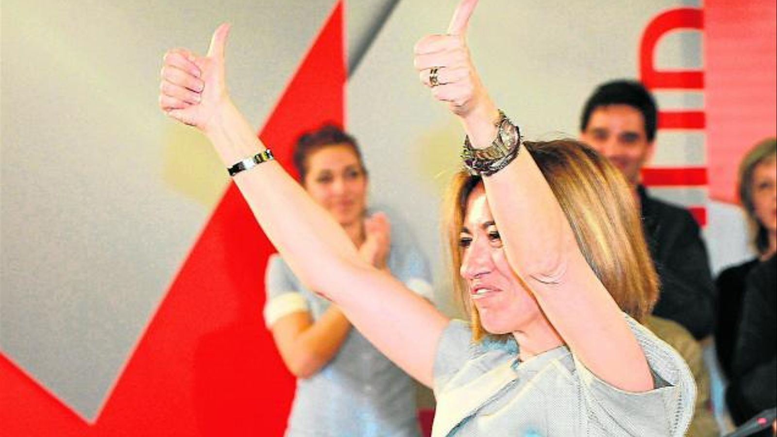 Chacón fa seva l'herència de ZP contra un Rajoy gandul