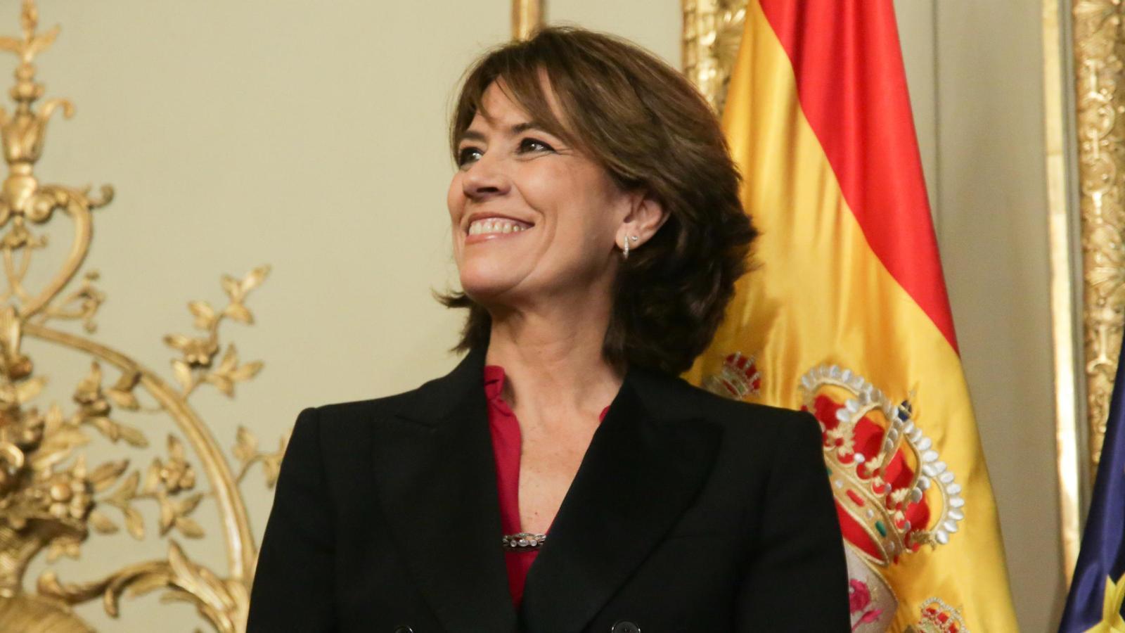 La futura Fiscal General de l'Estat, Dolores Delgado