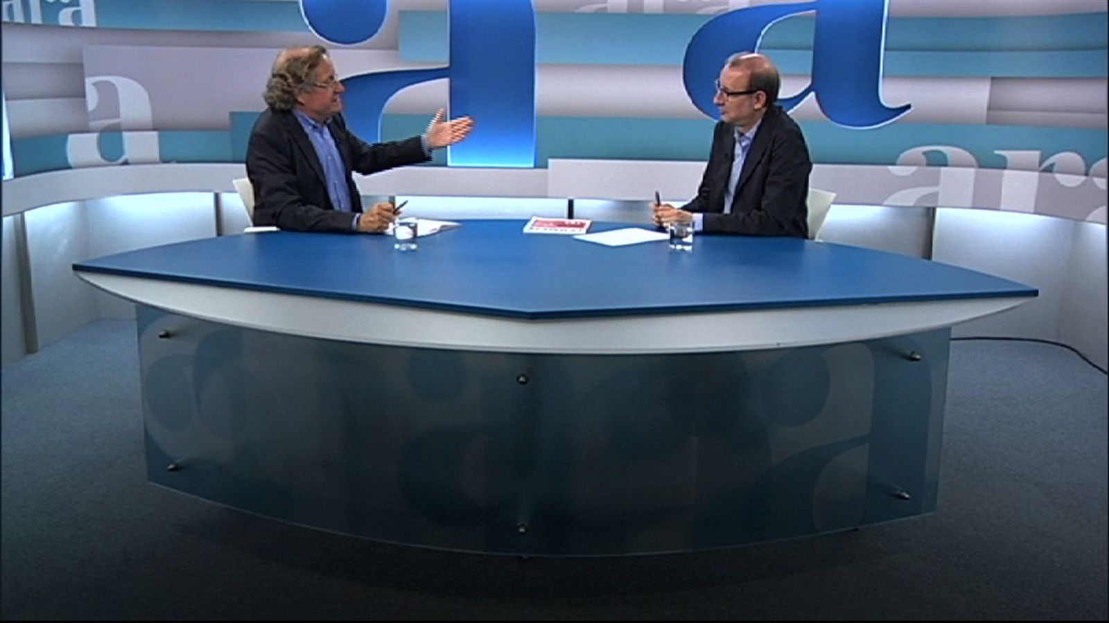 Entrevista d'Antoni Bassas a Josep Ramoneda