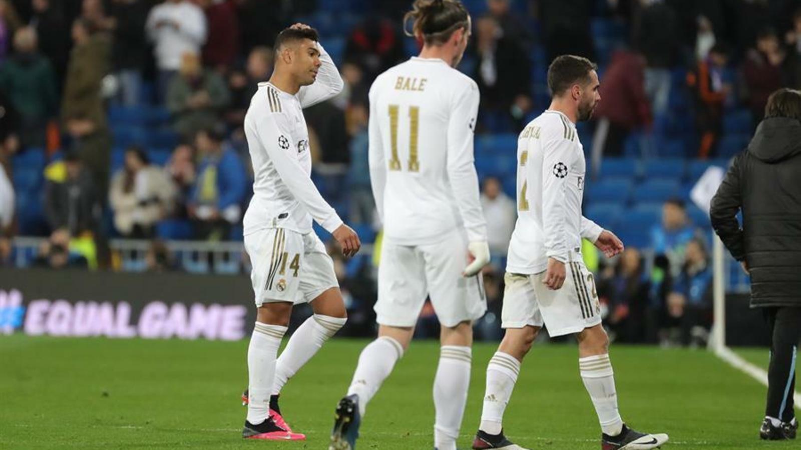 El Madrid va caure amb el City