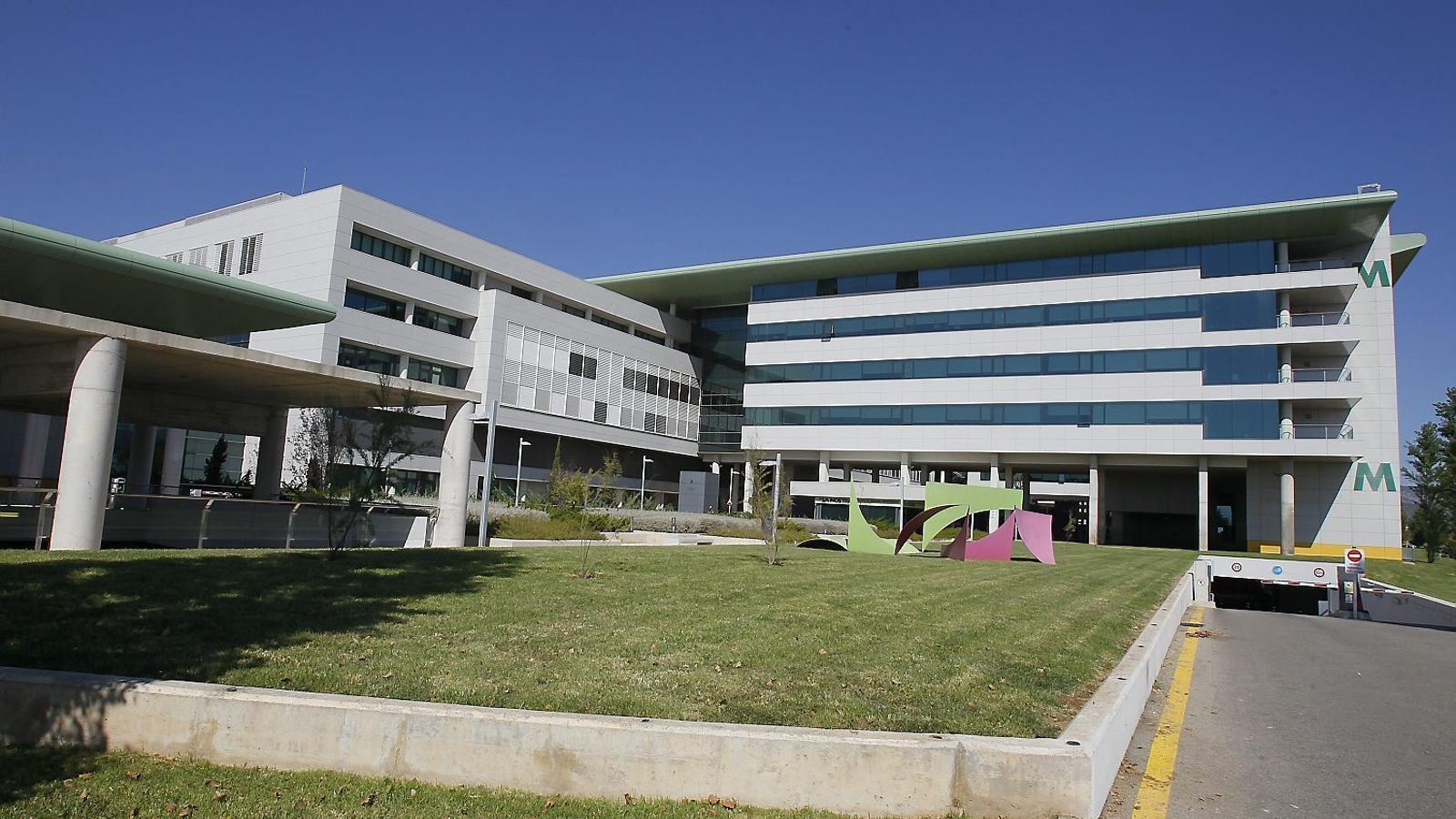 La víctima de l'atac masclista a Alcúdia es recupera a l'Hospital de Son Espases.