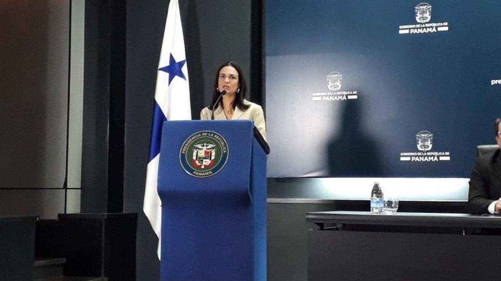 La vicepresidenta panamenya Isabel Saint Malo d'Alvarado. / ARA ANDORA