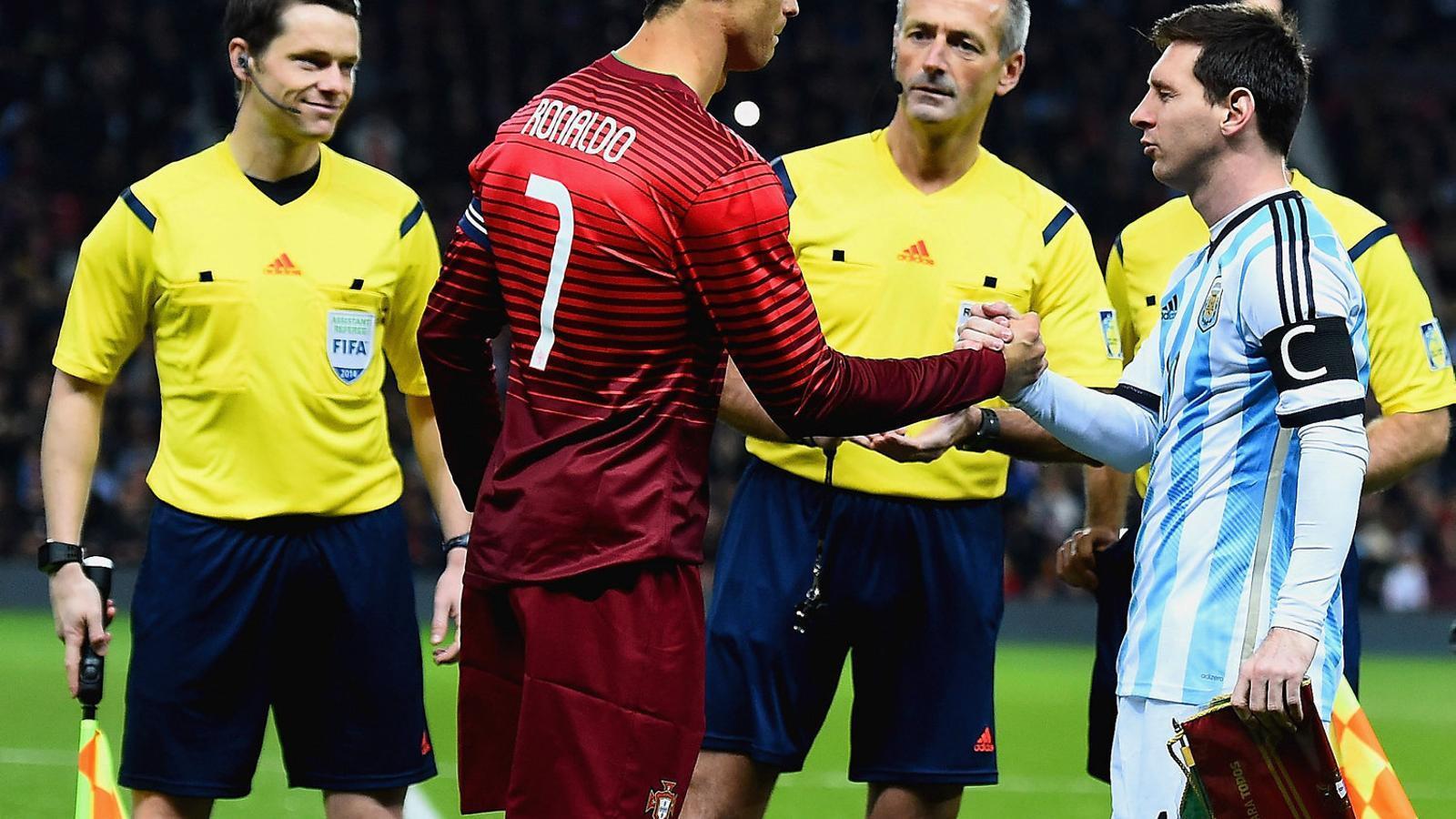 La Champions recupera el duel Messi-Cristiano