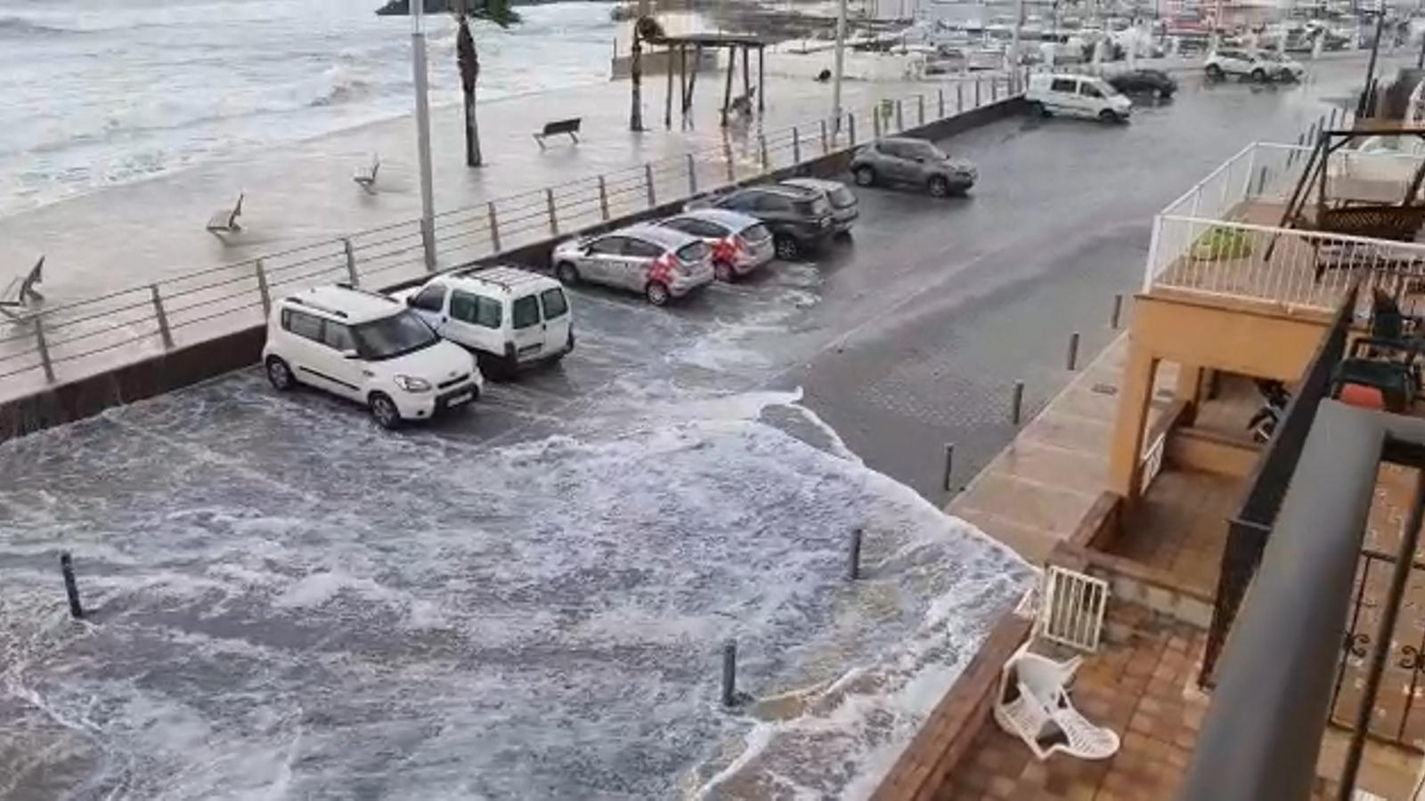 La intensa pluja provoca 69 incidents a les Illes Balears