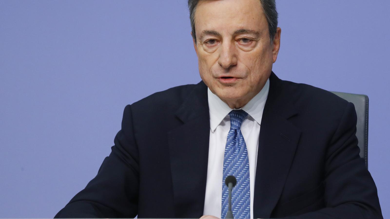 El president del BCE, Mario Dragi.
