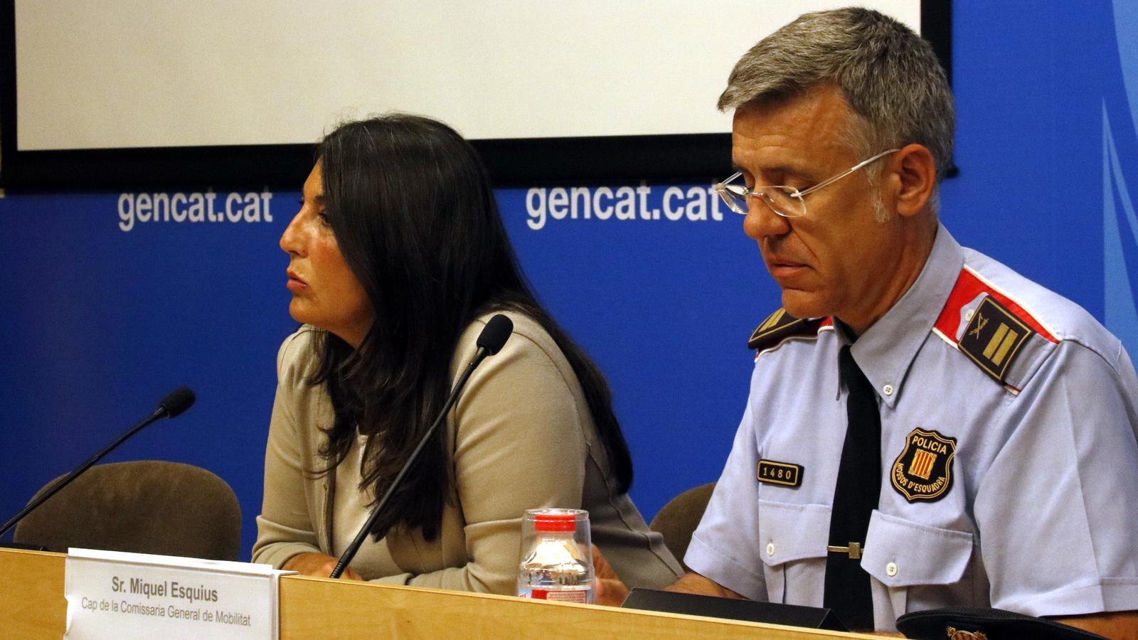 El comissari Miquel Esquius, nou número dos dels Mossos d'Esquadra