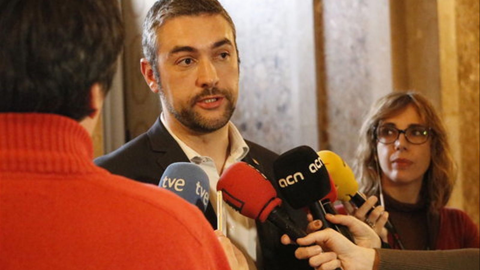 Bernat Solé, avui al Parlament
