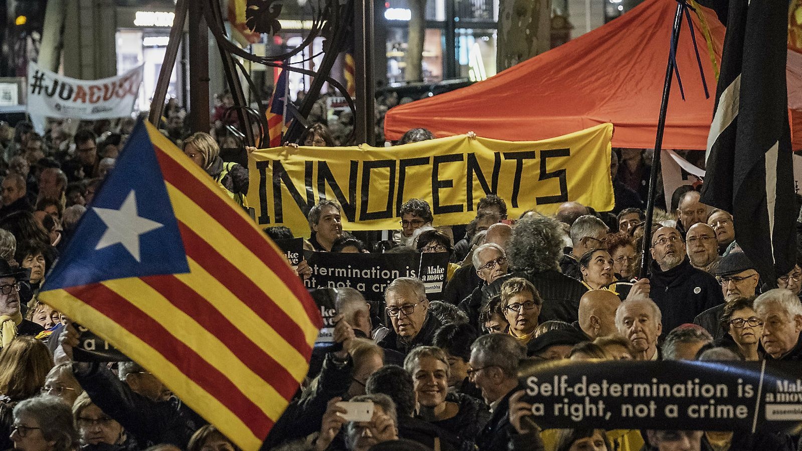 El 70,3% dels catalans consideren injustos la presó i l'exili