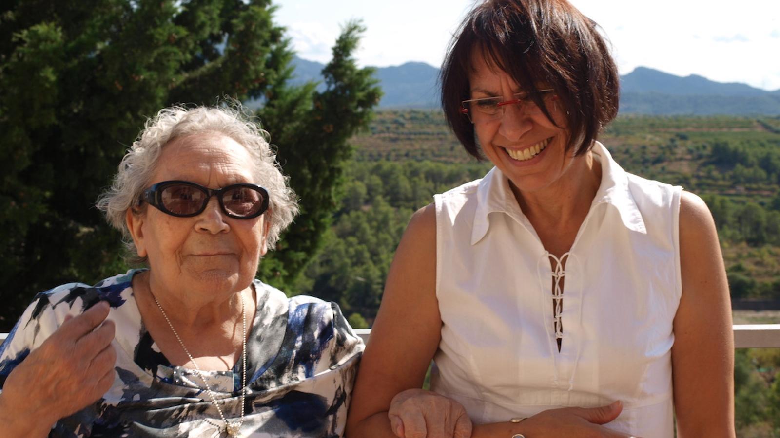 """Margarita Català: """"La manera de sobreviure de la mare  ha sigut lluitar"""""""