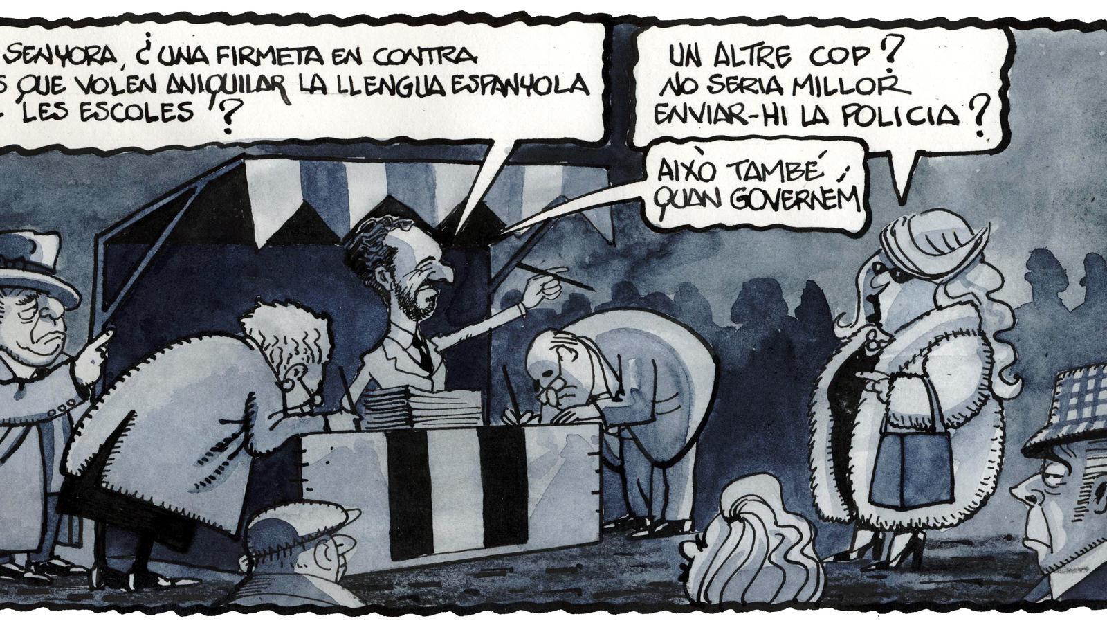 'A la contra', per Ferreres 21/11/2020