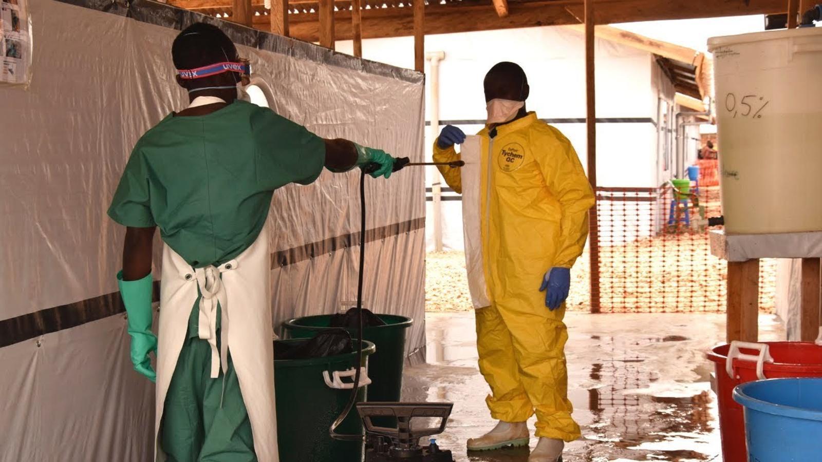 Metges Sense Fronteres obre un nou centre d'atenció als malalts d'Ebola a Beni