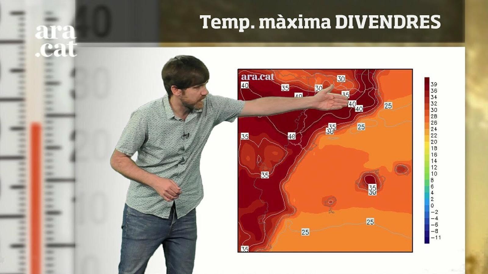 Méteo especial: nits tropicals i màximes de fins a 40 graus fins diumenge