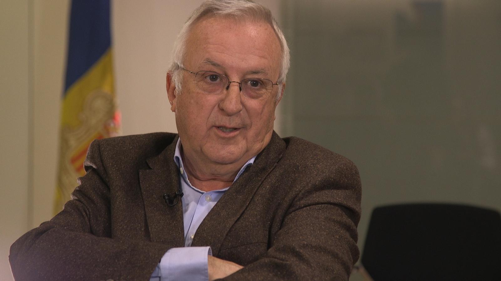 Miquel Armengol, president de la Cambra de Comerç. / A L'ALÇA