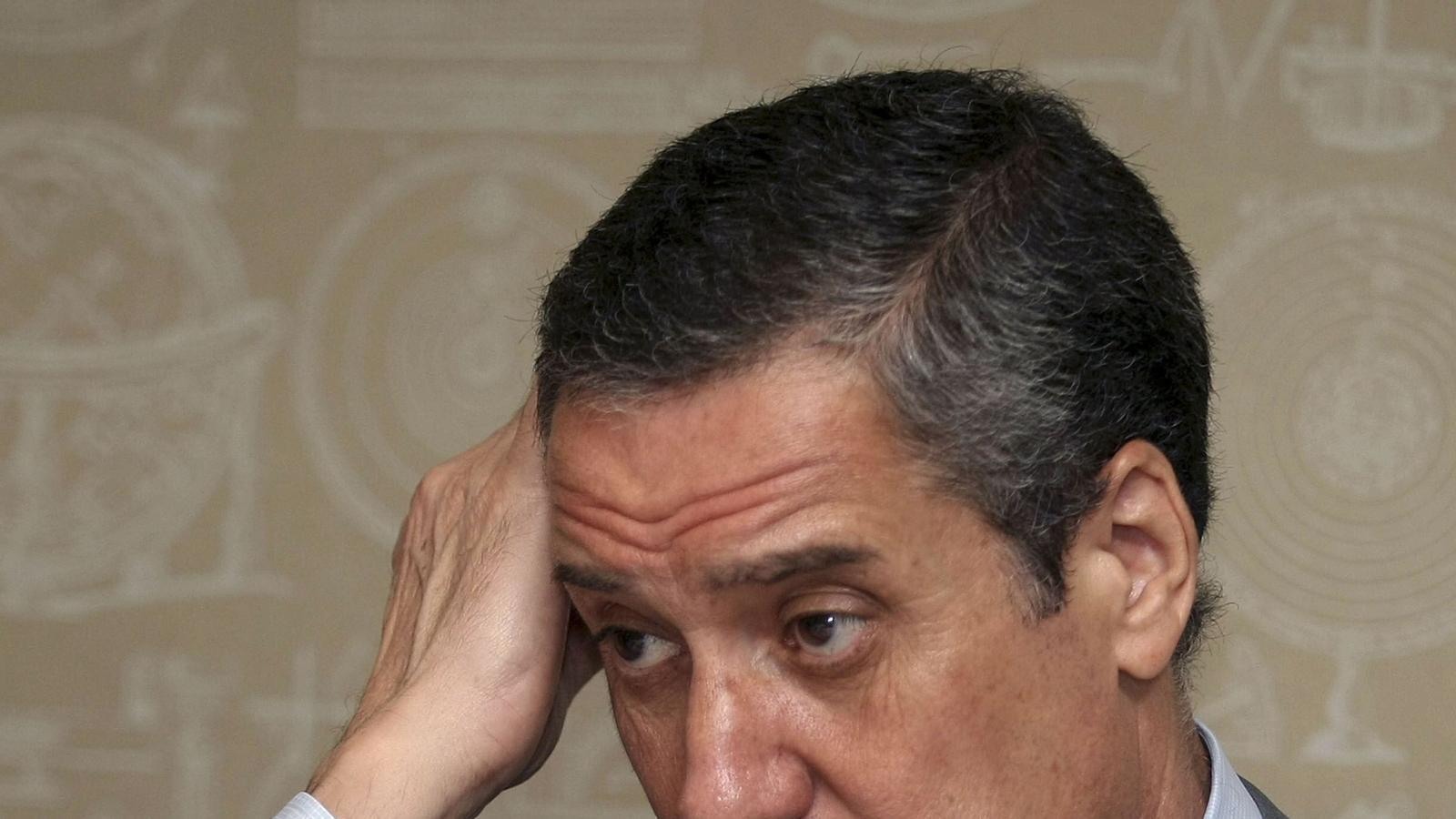 Eduardo Zaplana, exministre i expresident de la Generalitat valenciana. MORELL / EFE