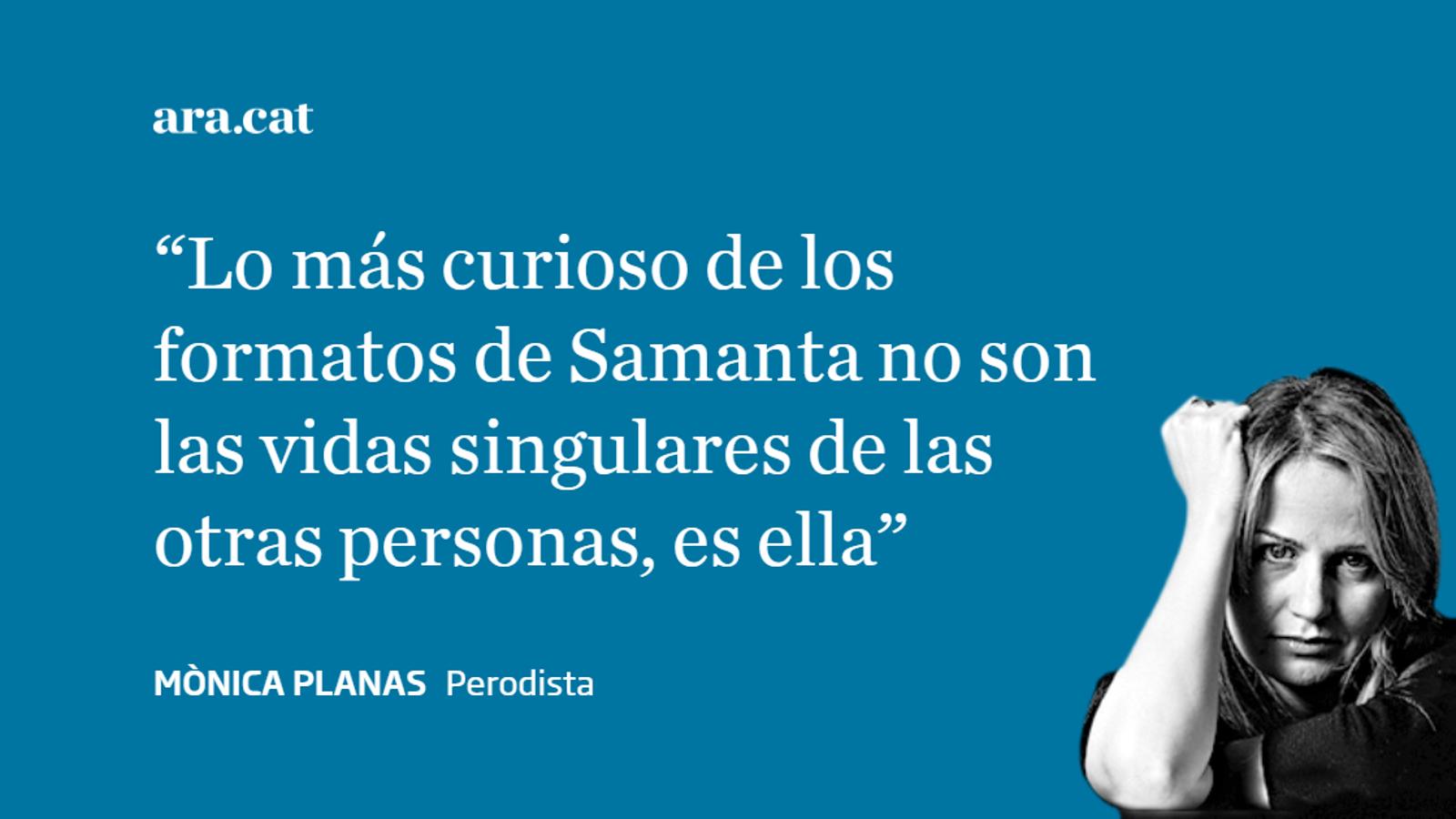 Las lecciones de Samanta
